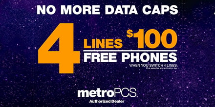 MetroPCS Has A Fantastic Deal For Your Whole Crew