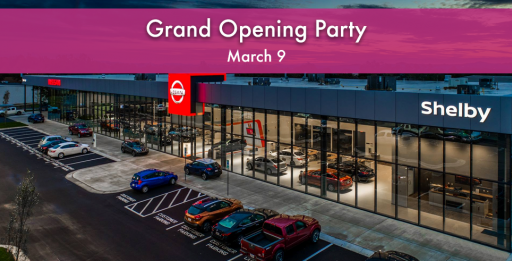 Nissan Of Shelby >> Celebrate Nissan Of Shelby S Grand Opening Event This Saturday With
