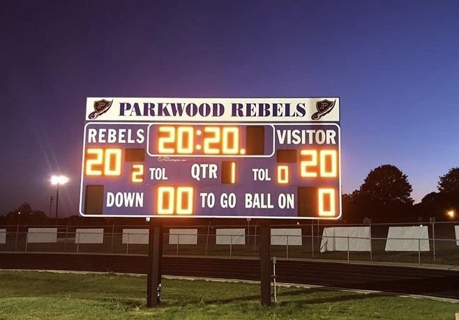Parkwood High Score Board