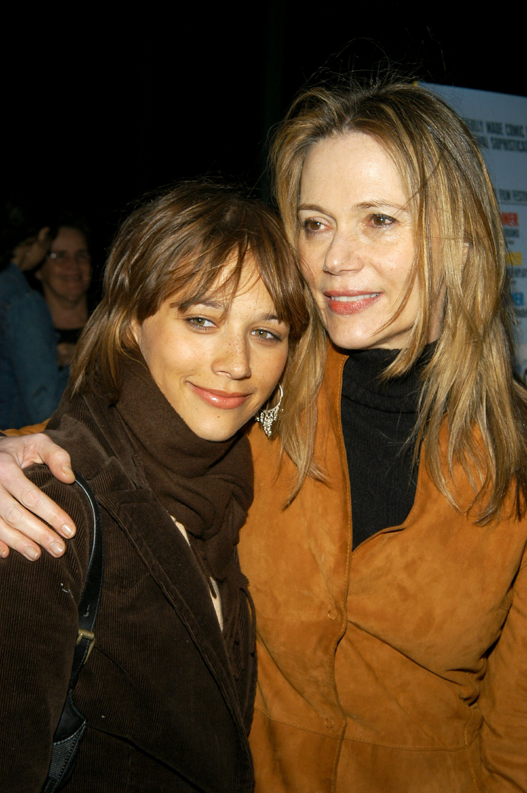 Rashida Jones and Peggy Lipton